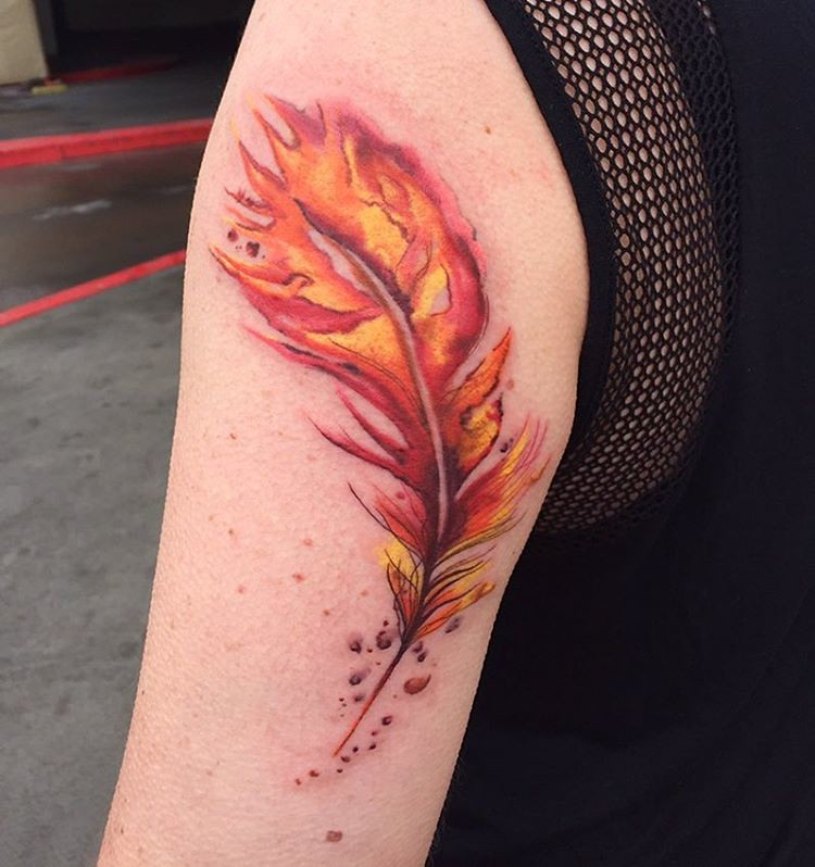 Did This Phoenixfeather Tattoo The Other Day Thanks For Flickr