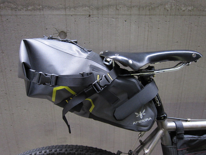 Apidura Dry saddle bag 2