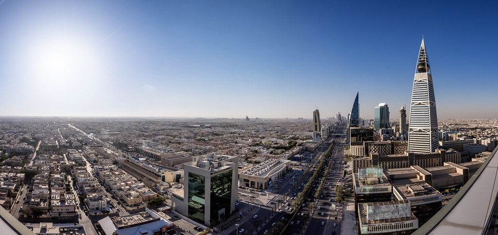 Day time Faisaliah and Riyadh Panorama | Faisal Bin Zarah
