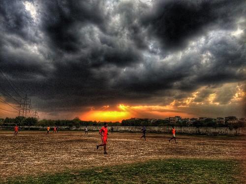 sunset rain sport clouds landscape evening march football spring nikon dusk weekend famous nikkor popular league iphone