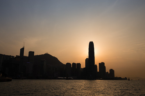 china city travel sunset urban hk silhouette skyline canon hongkong asia central hongkongisland 6d sigma35mmf14dghsm