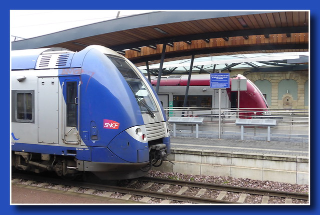 SNCF meets CFL (Train station Luxembourg-City)