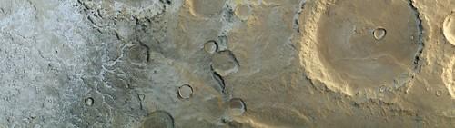 Frost in Terra Cimmera - Mars Express   by jccwrt