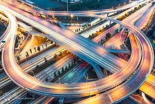 Chengdu Guixi Interchange by plej_photo - 乐让菲力