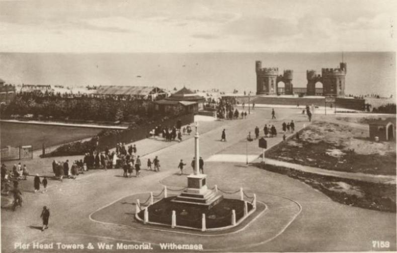 Pier Head Towers,  Withernsea 1920 (archive ref PO-1-159-22)