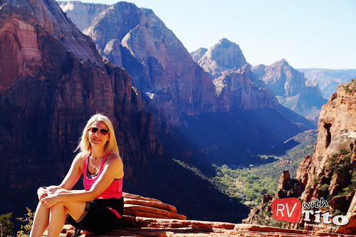 Tue, 10/13/2015 - 09:52 - Angel's Landing at Zion National Park. Watch video: youtu.be/mWZzAPB52Sc