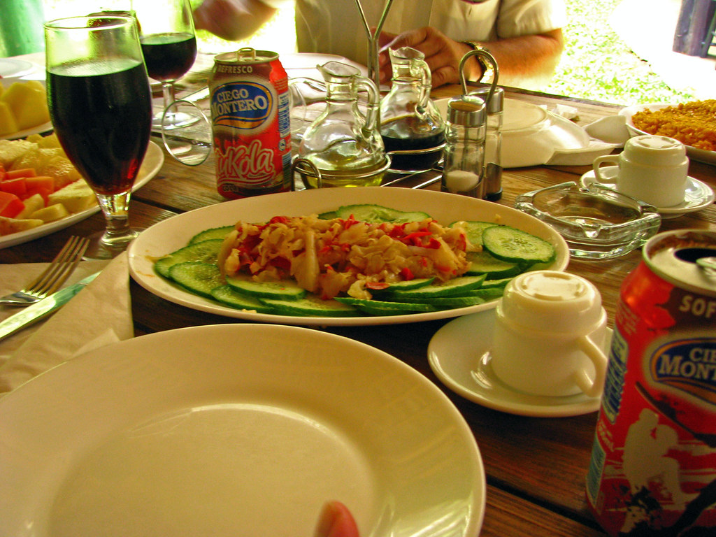 Lunch at Palenque Restaurant