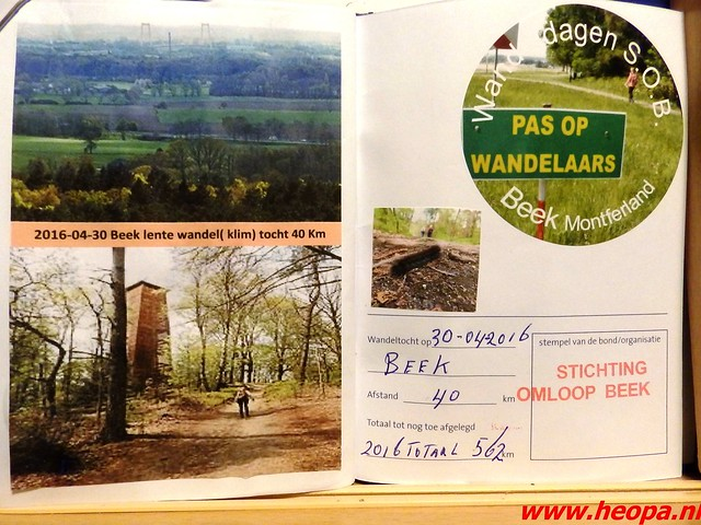 2016-04-30   Lentetocht  (klim) wandeling 40 Km  (133)