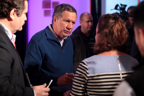 John Kasich with attendees | by Gage Skidmore