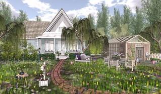 Spargel & Shines Bocas Cottage & TMS Greenhouse | by Hidden Gems in Second Life (Interior Designer)