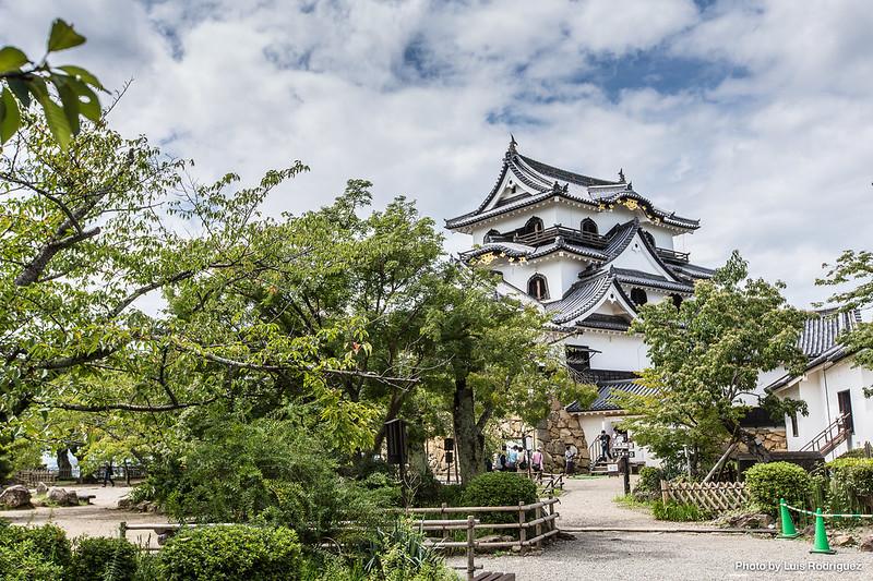 Castillo de Hikone, uno de los castillos originales de Japón