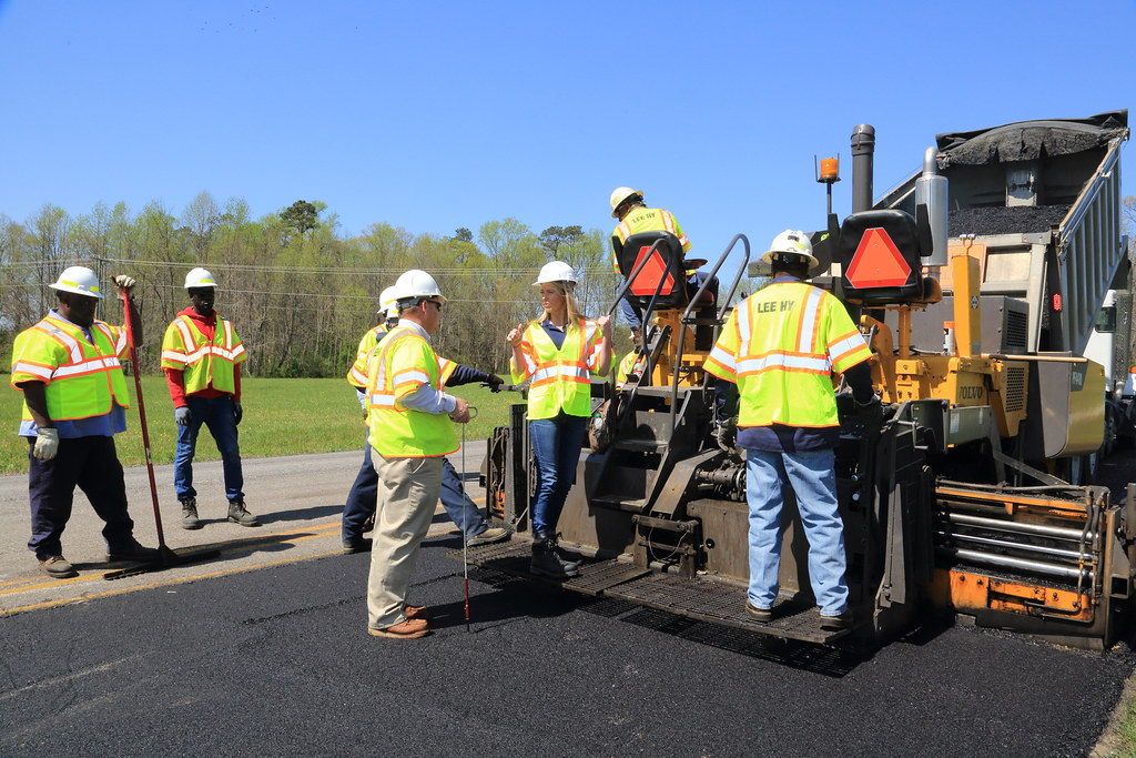 _C5A6667_RTS   VDOT and Lee Hy Paving were joined by Nikki