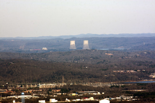 chattanooga landscape tennessee lookoutmountain tva coolingtower tennesseeriver inclinerailway chickamaugadam canonef35350mmf3556lusm canoneos40d ronmayhew sequoyahnuclearplant containmentbuilding