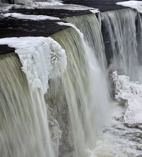 hiver ottawa chute glace rivièreoutaouais chutesrideau fabuleuse