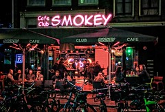 Club Smokey's Night Club on Rembrandtsquare in Amsterdam