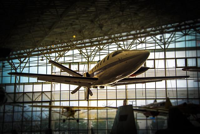 Lear Fan 2100 - The Museum of Flight - Seattle - Washington