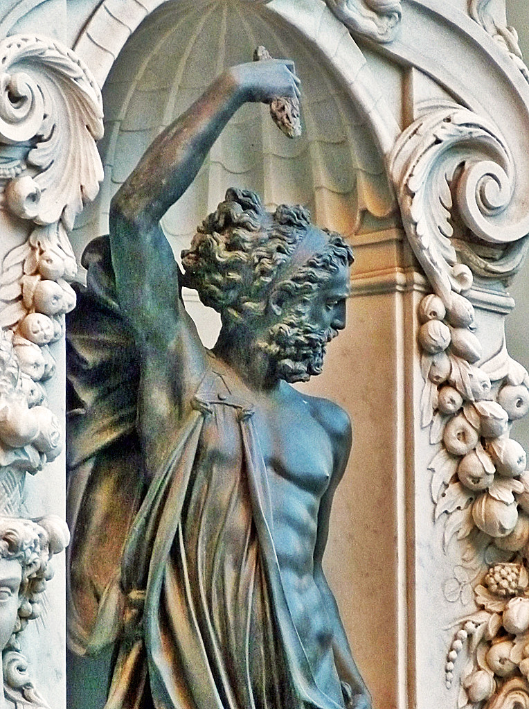 Cellini - Jupiter, detail