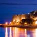 Ulcinj old town, Montenegro seaside.