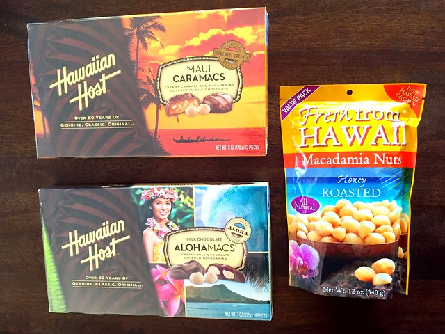 Goodies from Hawaii! #tnxhb He knows I like the all natural macadamia nuts and sometimes, with a bit of chocolate, too. #raretreats Hawaii is also on our familytravel bucketlist, maybe when our little ones grow a bit older, in a year or two. :) 🌺