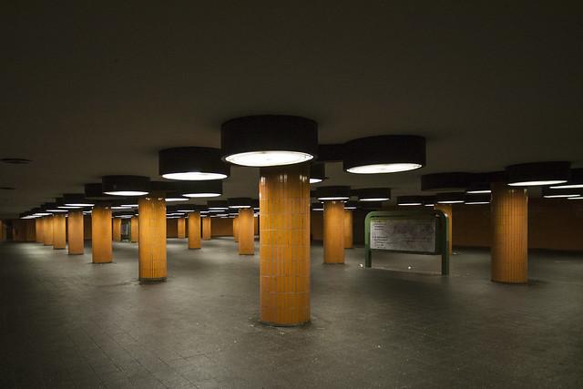Underground tunnel at the ICC, Berlin