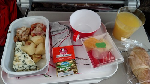 Kenya Airways Breakfast NBO-BKK | by BertoUCF