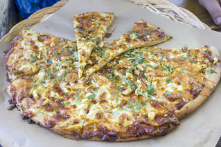 Thai new year pizza | by quinn.anya