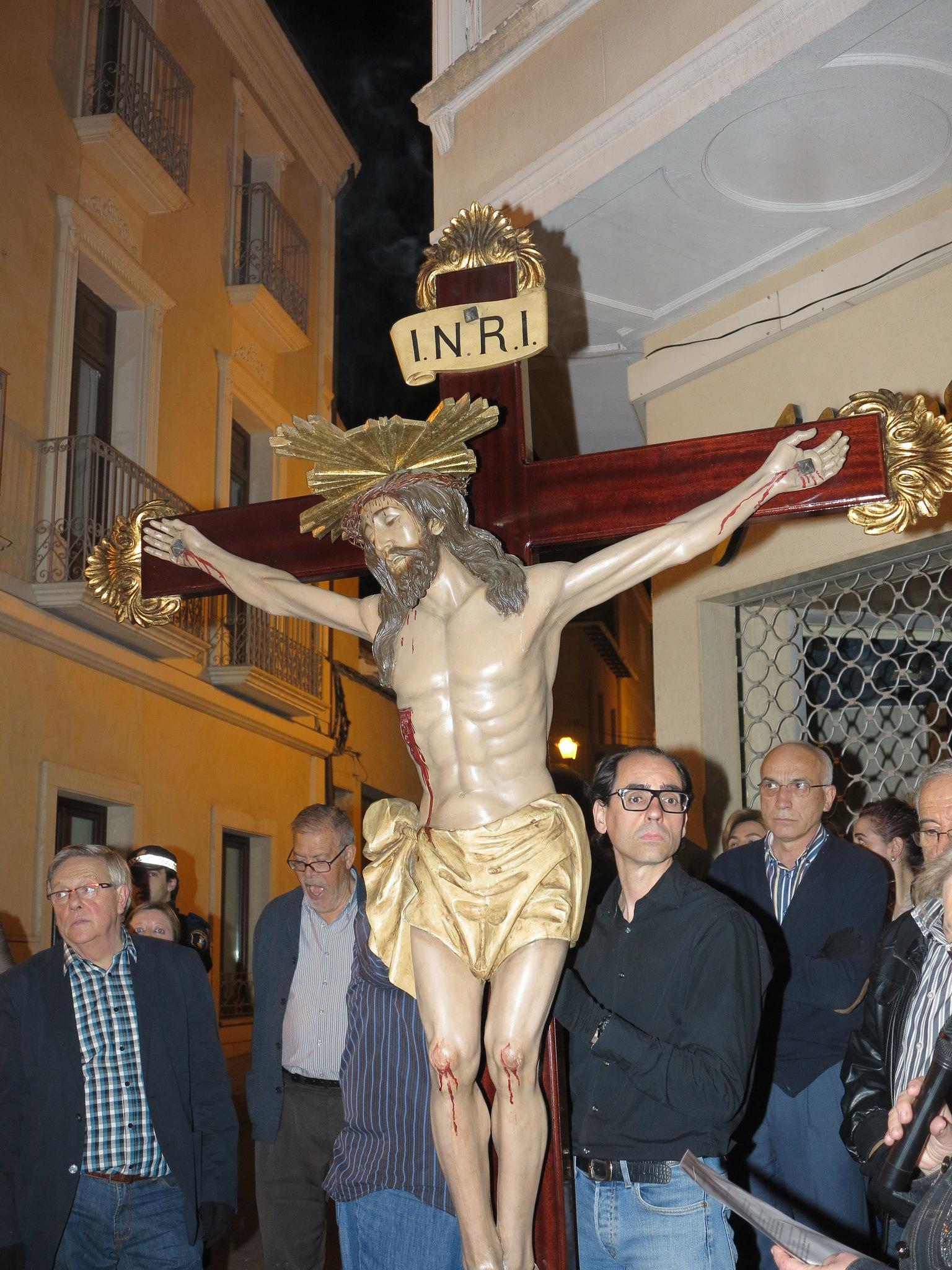 (2014-04-01) - V Vía Crucis nocturno - Antonio José Verdú Navarro (43)