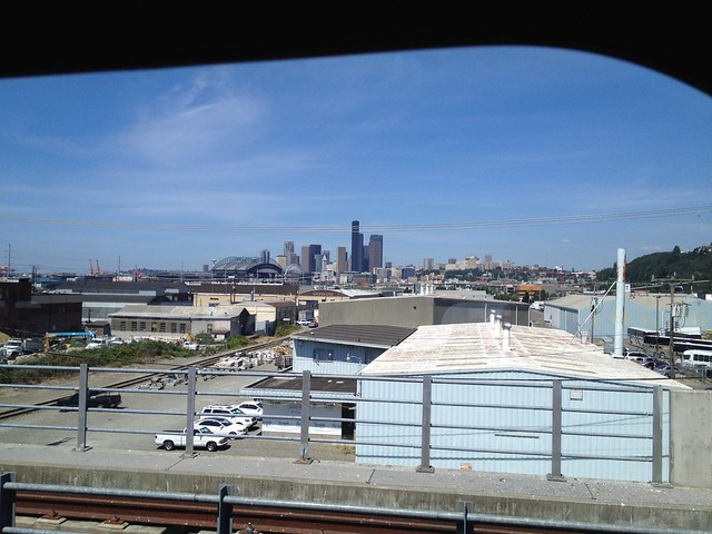 Approaching Seattle!