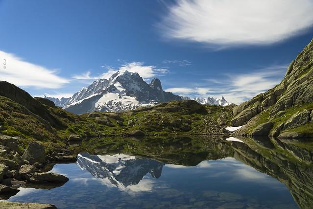 Souvenir estival d'un reflet de la Verte... Summer memory of a reflection from la Verte...