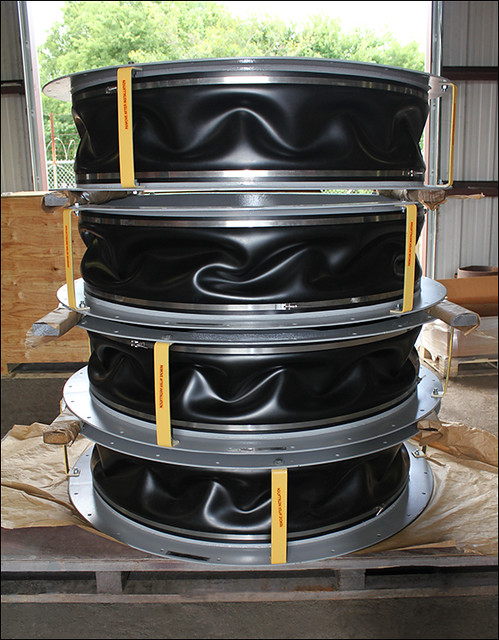 Neoprene Expansion Joints Designed for a Generator Fan in a Gas Turbine Facility