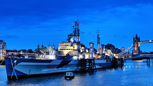 HMS Belfast | by Hexagoneye Photography