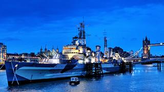 HMS Belfast   by Hexagoneye Photography