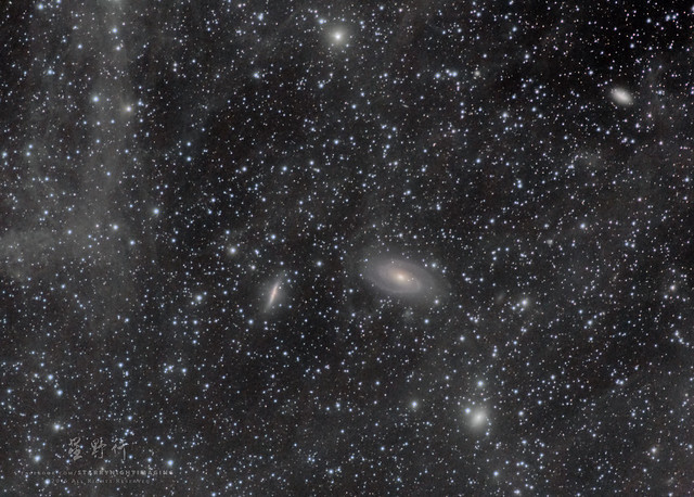 Bode and Cigar Galaxies