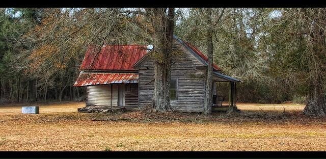 Cabin on the backroads