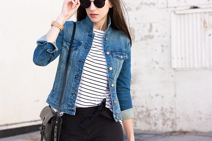 f5b314745d7 Striped Shirt, Denim Jacket | Jeans and a Teacup | Flickr