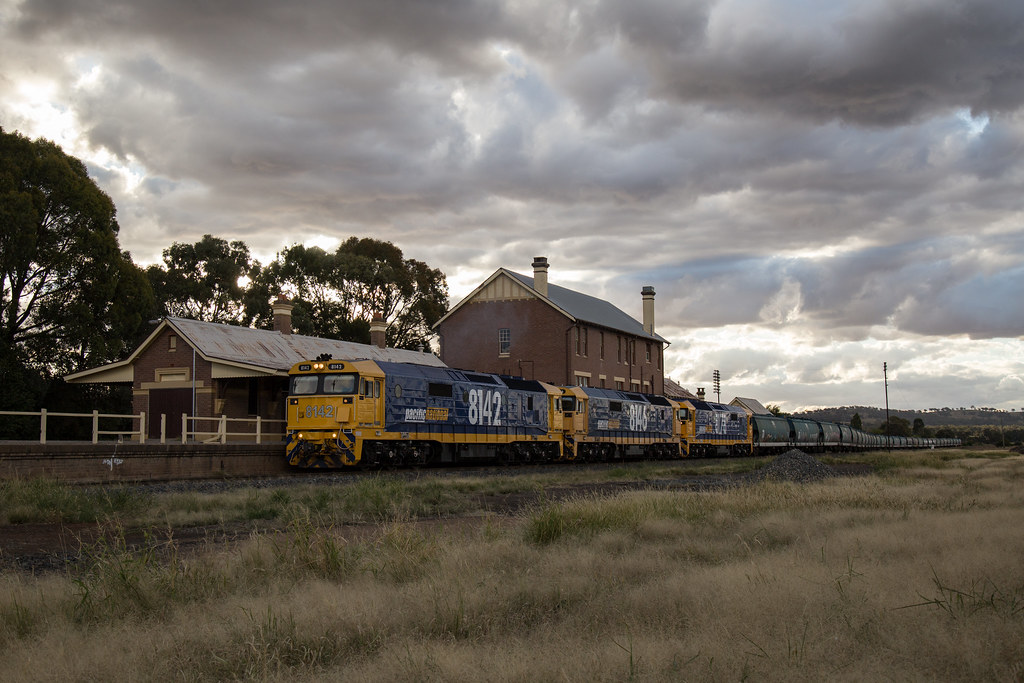 2016-03-20 Pacific National 8142-8146-8178 Cootamundra West 3422 by Deano_305