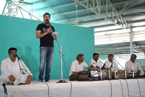 Punjabi devotional song by Kamal Kumar from Dubai