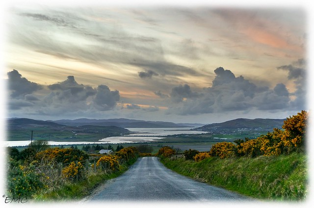 The road to the lough