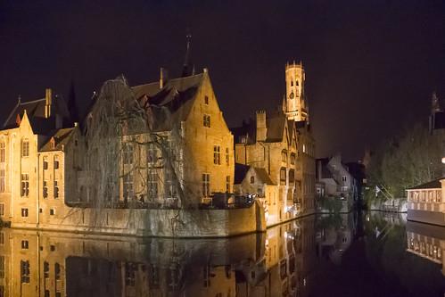 Rozenhoedkaai Night View - Bruges | by rustyjob