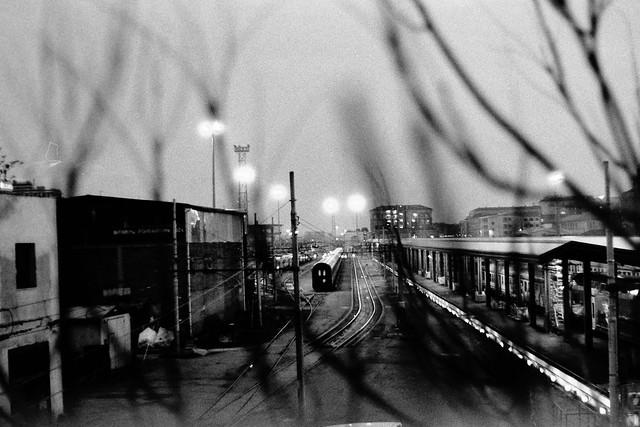 Night at Bologna train station