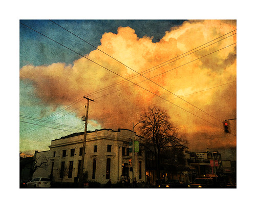 sunset urban cloud texture vancouver landscape kits kitsilano 4thave iphone