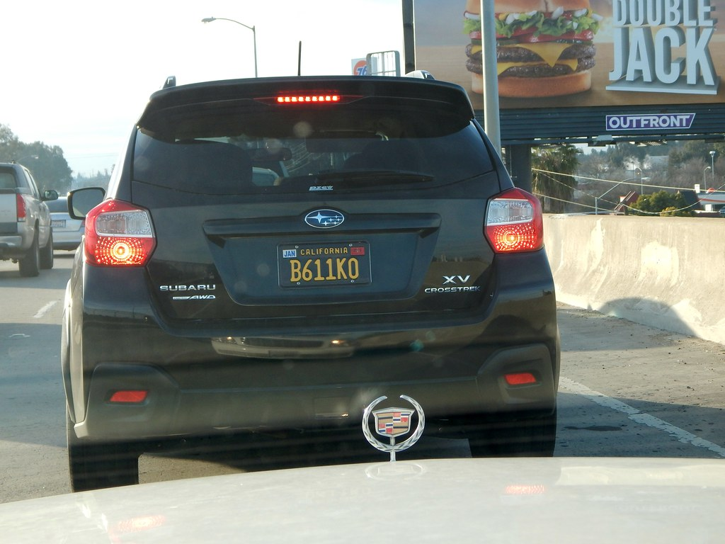 California black license plates are back , first one I've … | Flickr