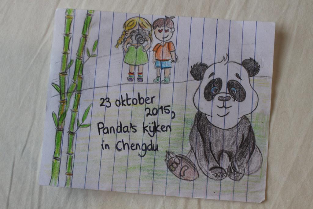 Panda's kijken!