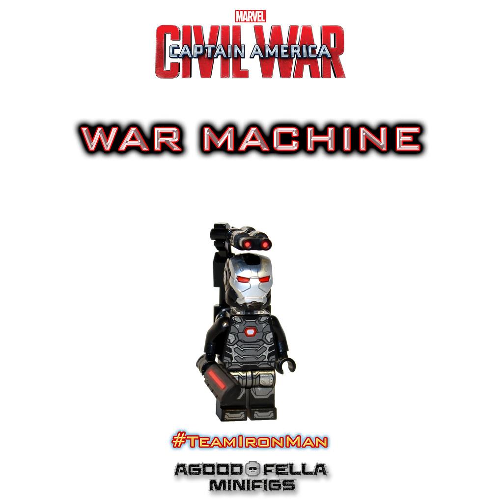 War Machine Mark 3 [MCU] [Civil War] [MOD] | instagram: inst
