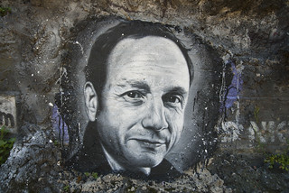 Frédéric Lordon, painted portrait _DDC2830   by Abode of Chaos