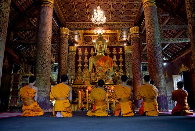 LAO256 Boun Khao Pansa - Luangprabang 197 - Laos