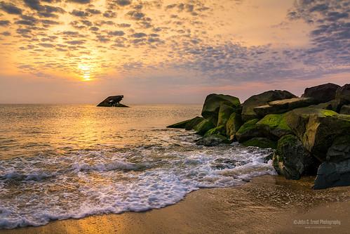 sunset newjersey sunsetbeach capemay jerseyshore