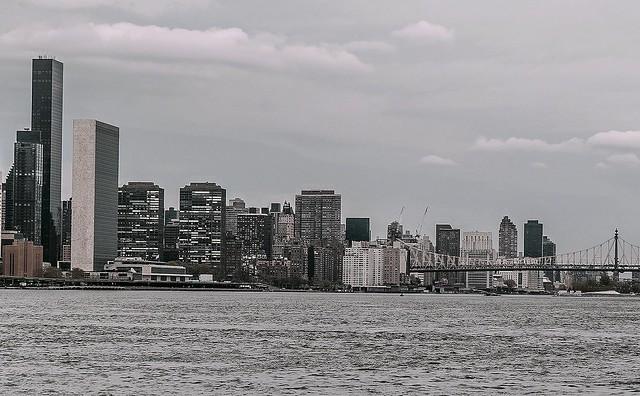 Panoramic Vista in Monochrome