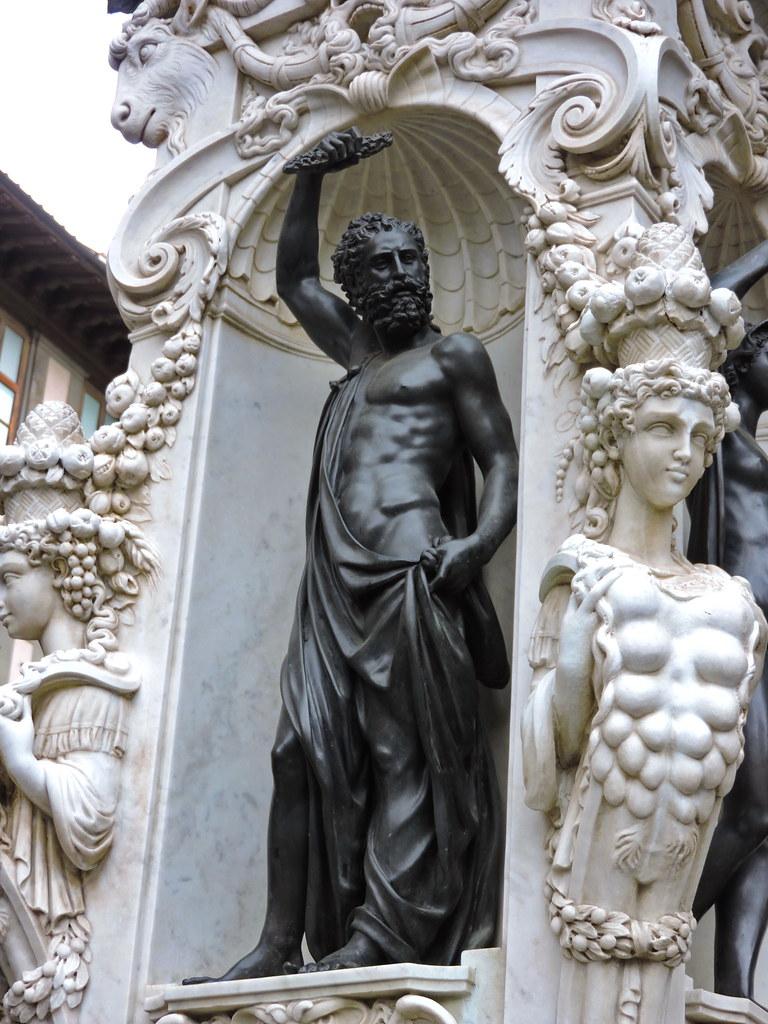 Perseus With The Head Of Medusa Perseo Con La Testa Di Me