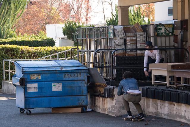 Dumpster Boarding #1